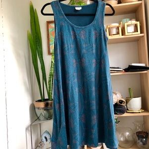 Mata Traders | Bellini Dress Teal S